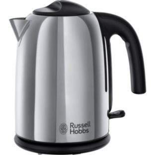 russell hobbs 20410 polished kettle stainless steel for. Black Bedroom Furniture Sets. Home Design Ideas