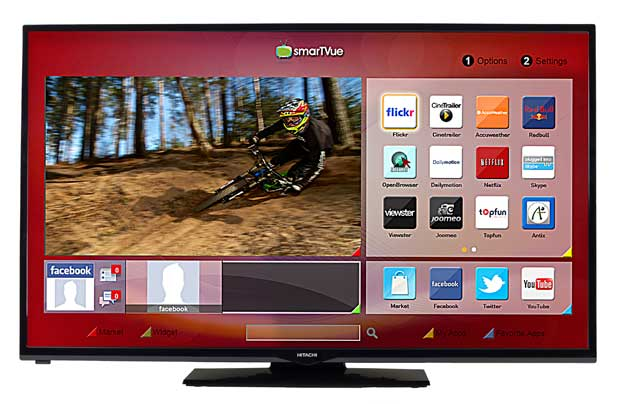 Direct Tv Internet Reviews >> Hitachi 50HYT62U 50 Inch Full HD Freeview HD Smart LED TV ...
