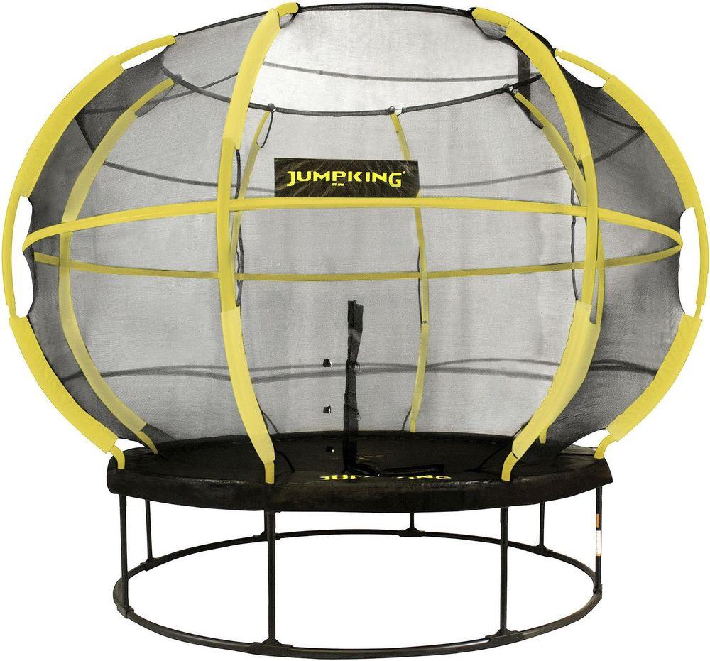 Jumpking 8ft Round Zorbpod Trampoline With Safety Net