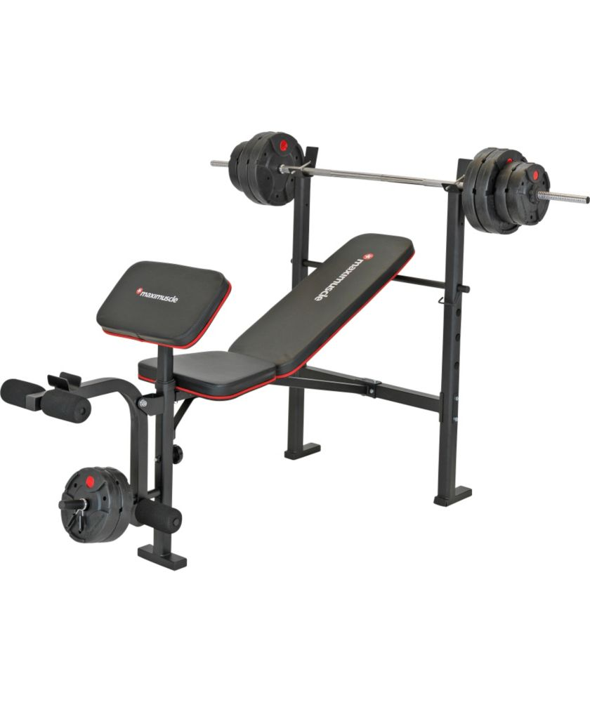 Maximuscle Bench And Weights Package For Was At Find It For Less