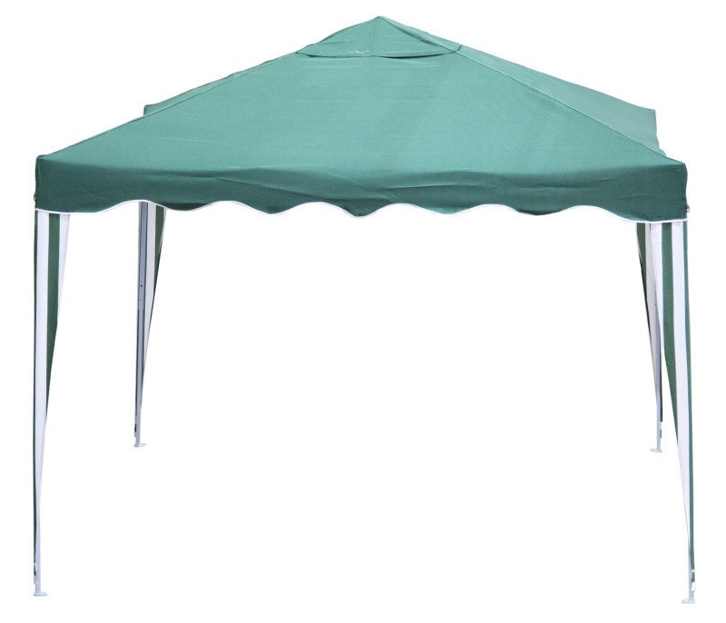 Pop Up Gazebo 3M x 3M Green and White Stripe for £19.98 (Was £99.99) at Ebuyer  Find It For Less