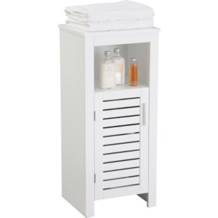 Cool Buy HOME Sliding Door Bathroom Cabinet  White At Argoscouk  Your