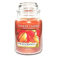 yankee candle classic large jar spiced orange for. Black Bedroom Furniture Sets. Home Design Ideas